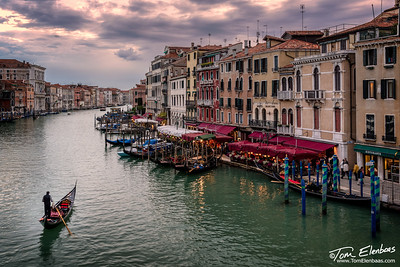 The Grand Canal from the Rialto Bridge, Venice