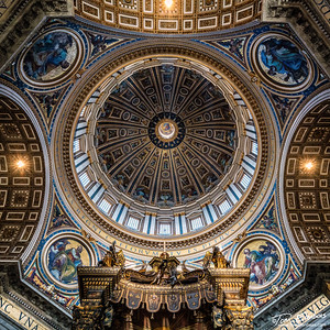 The Done of St. Peter's Basilica, Vatican City
