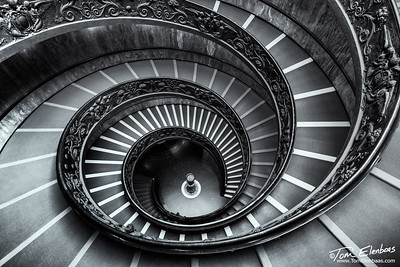The Momo Staircase, Vatican Museum