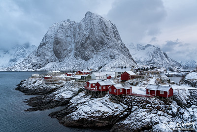 Fresh Snow on Hamnoy