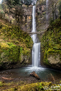 Multnoma Falls, Columbia River Gorge