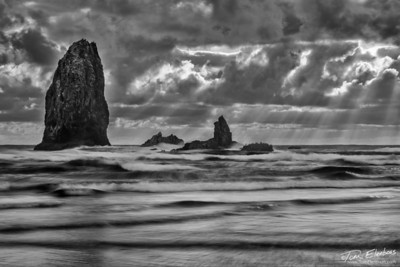 Cannon Beach Seastacks I