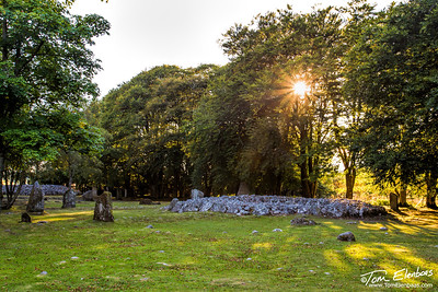 Clava Cairns Ancient Buriel Site