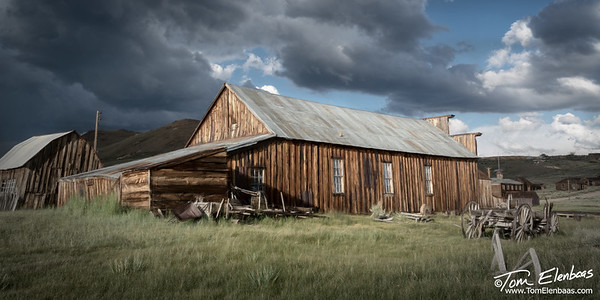 Miner's Union Hall, Bodie Ghost Town