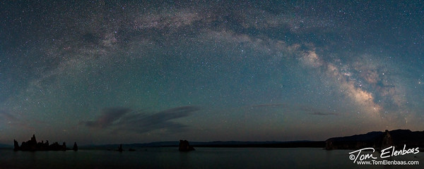 Milky Way Pano, Mono Lake