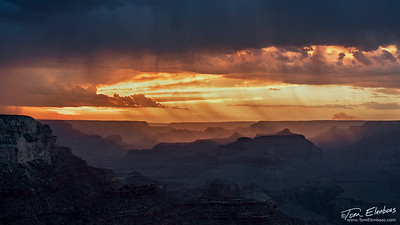Yavapai Point Sunset III