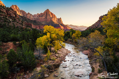 The Watchman, Zion N.P.