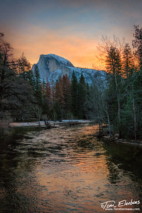 Half Dome Sunrise, Yosemite N.P.