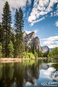 Three Brothers Reflections, Yosemite N.P.