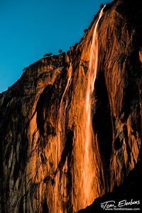 Horsetail Fall, Yosemite N.P.