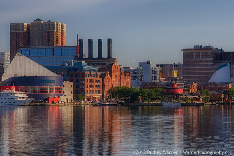 Baltimore Harbor Early Morning