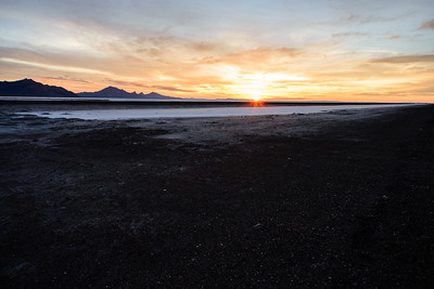 Bonneville Salt Flats Sunrise
