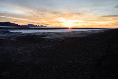 Bonneville Salt Flats Sunrise