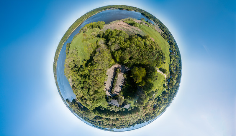 Gilsland Farm Little Planet Panorama