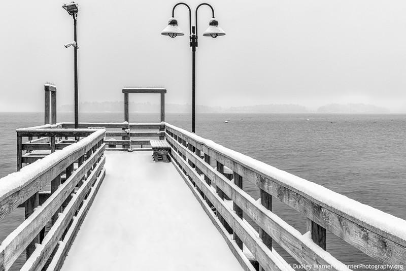 Town Landing Snowy Day