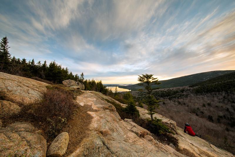 Bubble Rock Trail Summit - Early Morning