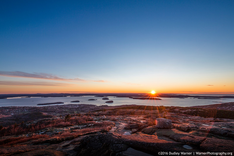 Cadillac Mountain First Light