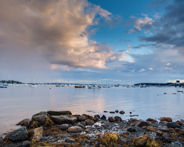 Falmouth Town Landing - Clouds at Sunset