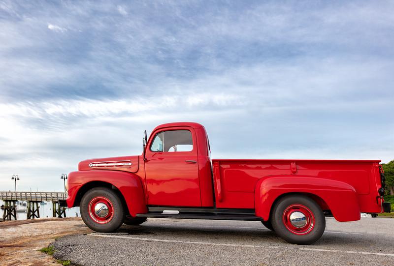 1951 Ford Pickup at Town Landing