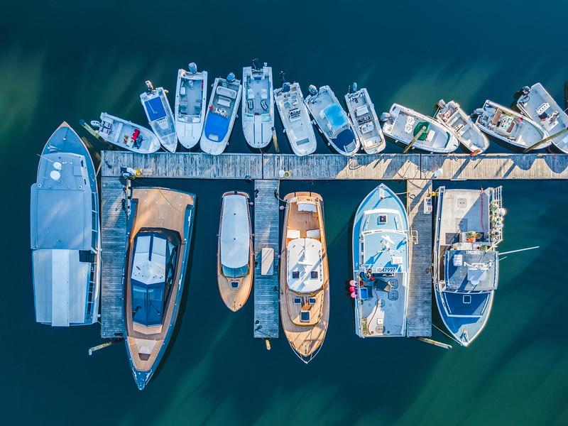 Seal Harbor Marina Aerial