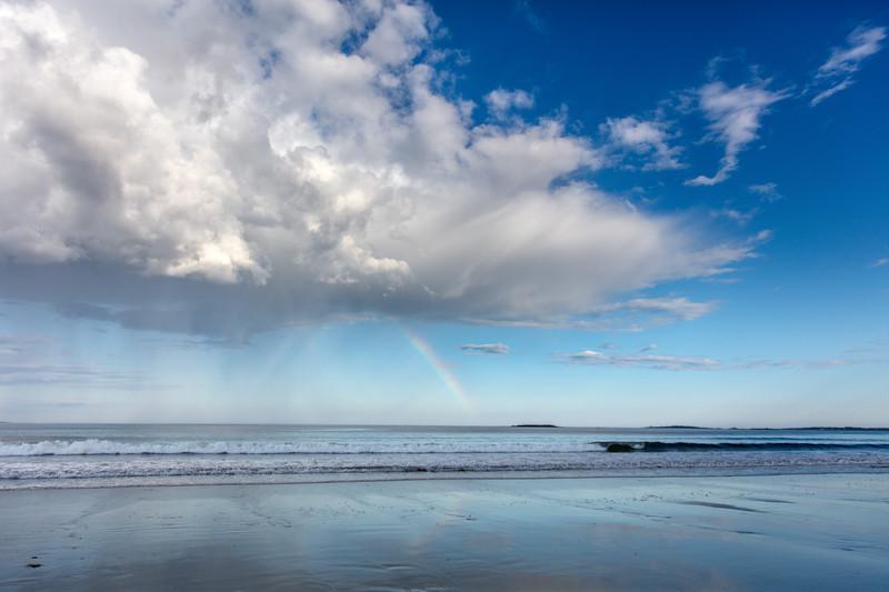 Rainbow over Saco Bay