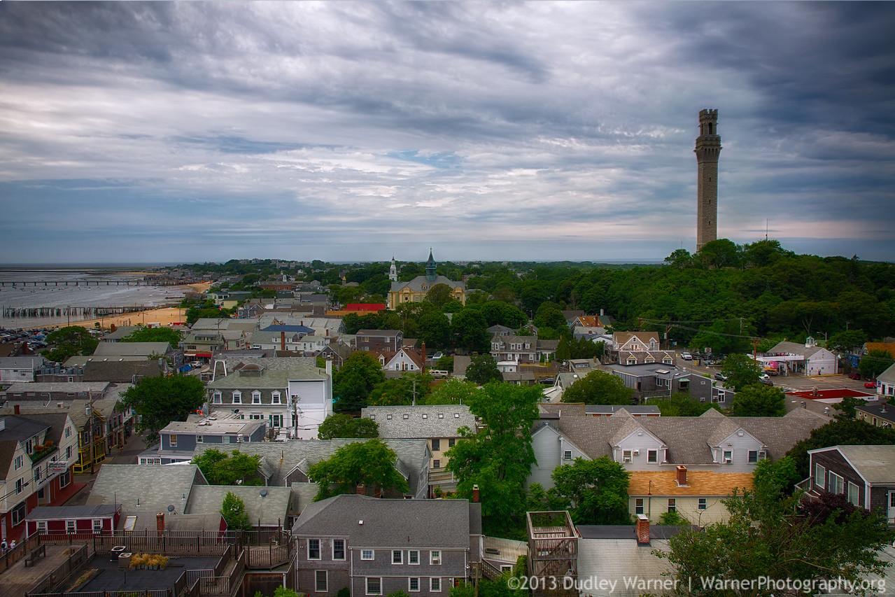 Pilgrim Monument Aerial View