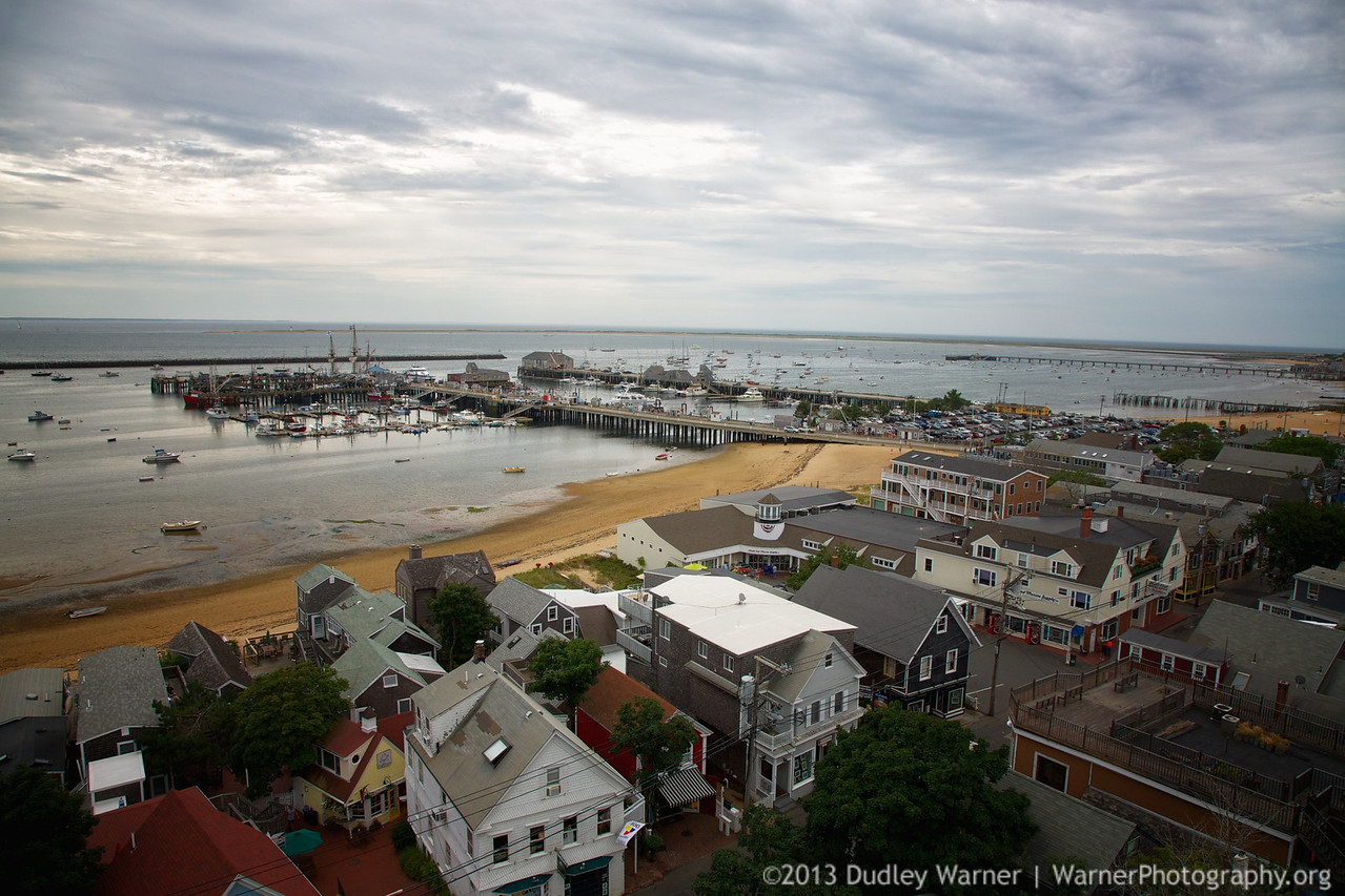 Provincetown Harbor Aerial View