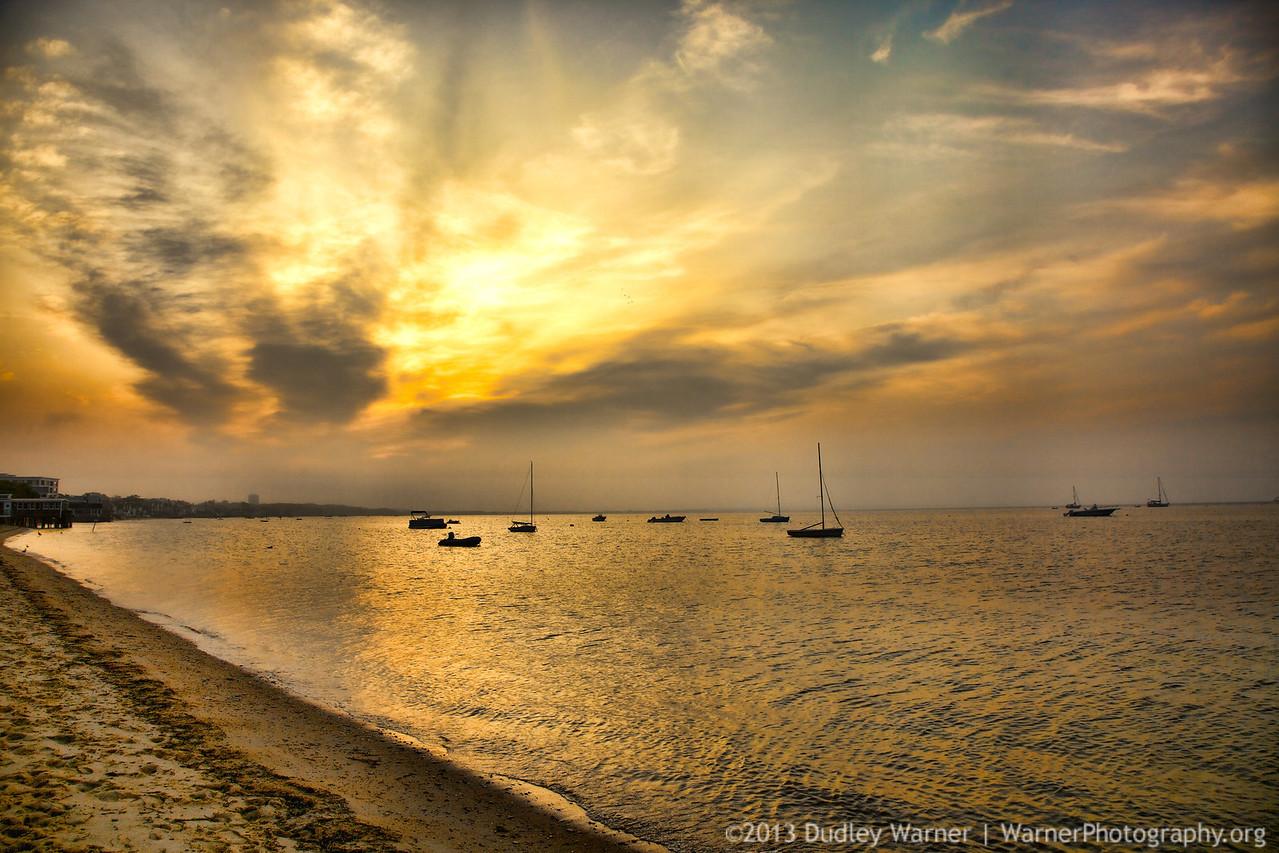 Provincetown Hazy Sunrise