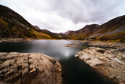 Autumn at Lake Sabrina