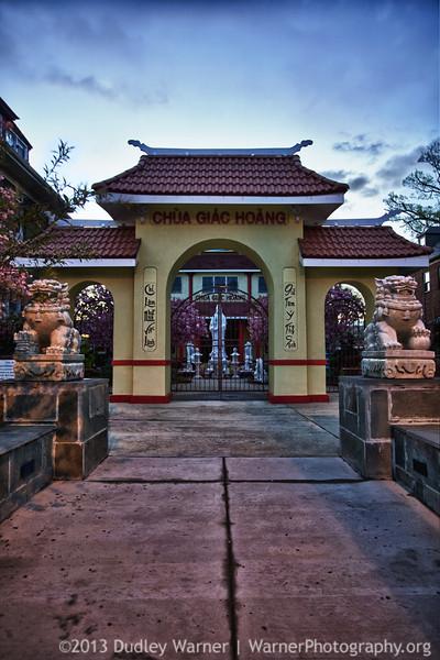 CHUA GIAC HOANG Buddhist Temple
