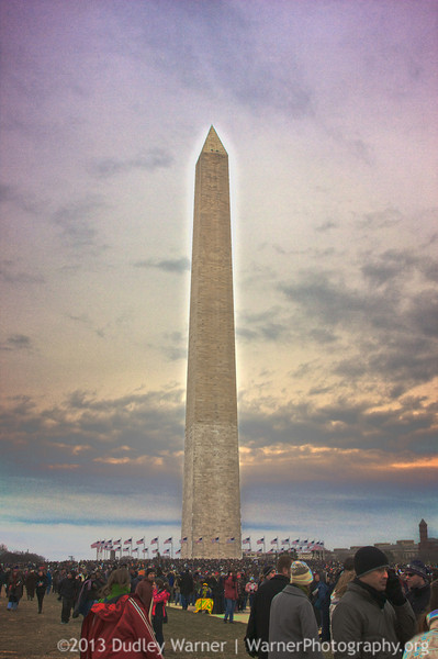 Washington Monument - Obama Inauguration