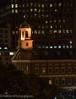 Boston, Faneuil Hall at night.
