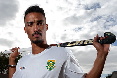 South African Hockey Player, Ryan Julius Training in Cape Town