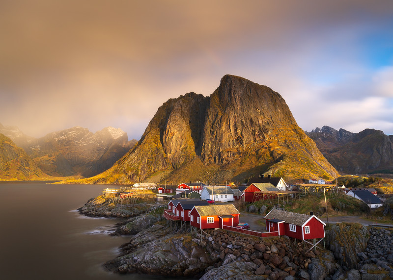 Hamnoy at Golden hour