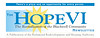HOPE VI Newsletter logo/ newsletter masthead