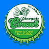 Pinegate Crawl Logo Design