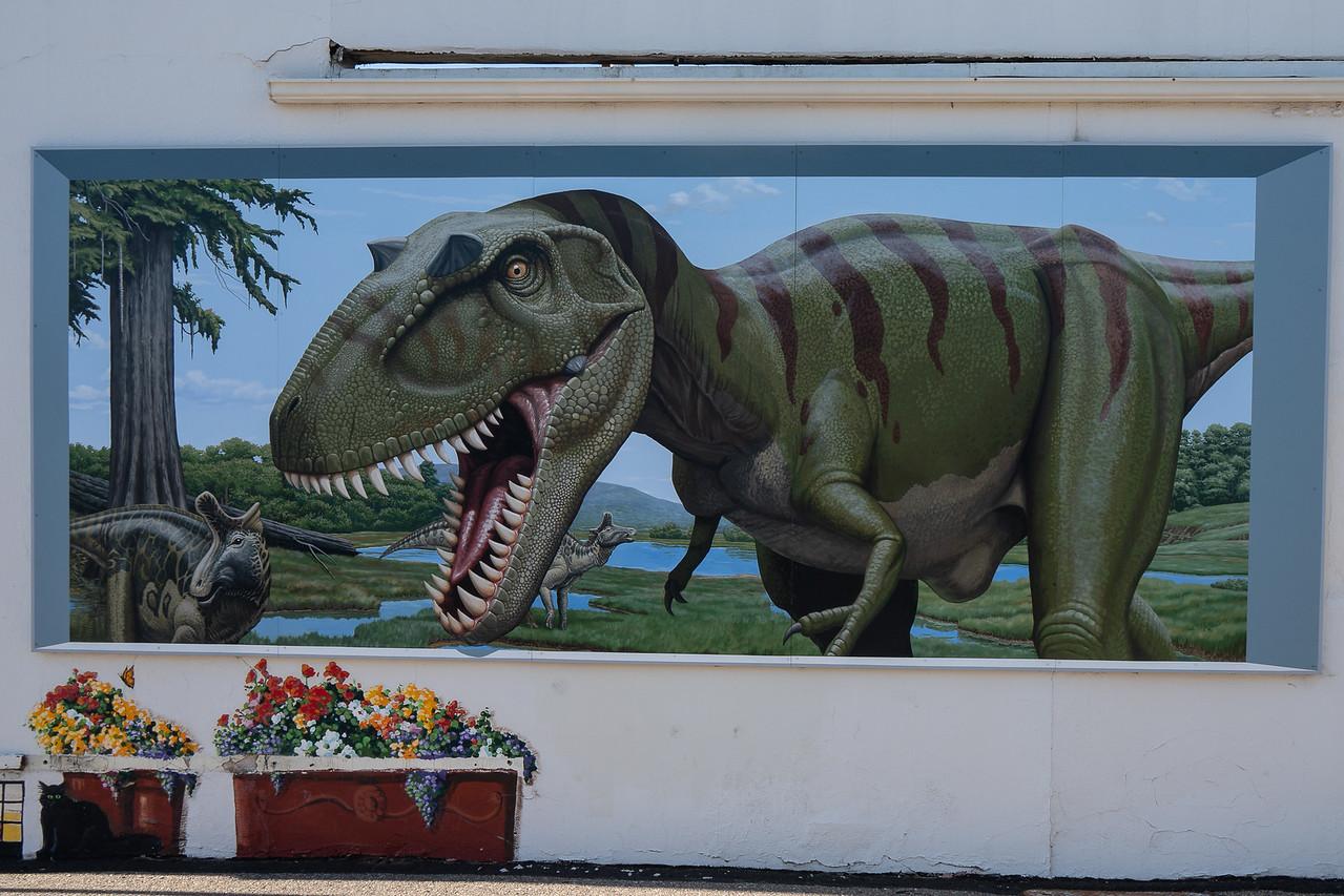 Feeding Time, 2015 Mural