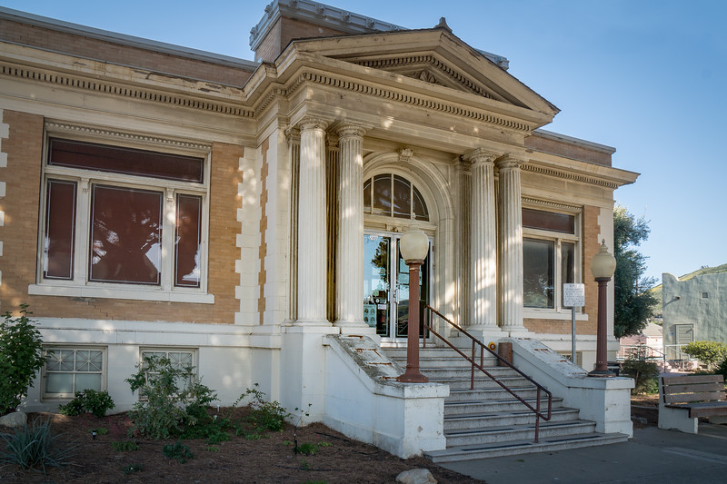 Lompoc Carnegie Library, 1910 - 1968