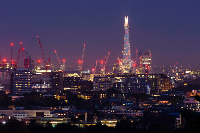 The Shard from Parliament Hill
