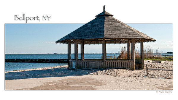 Bellport, NY, gazebo