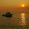 Fishing at Sunset, Great South Bay
