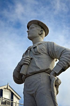 Sailor statue at Dansford, Port Jefferson