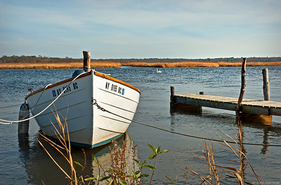 Rowboat on Carmens River, Bellport