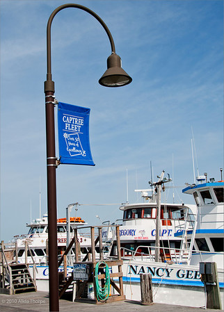 Captree Fleet with banner