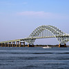 Robert Moses Bridge with Boat