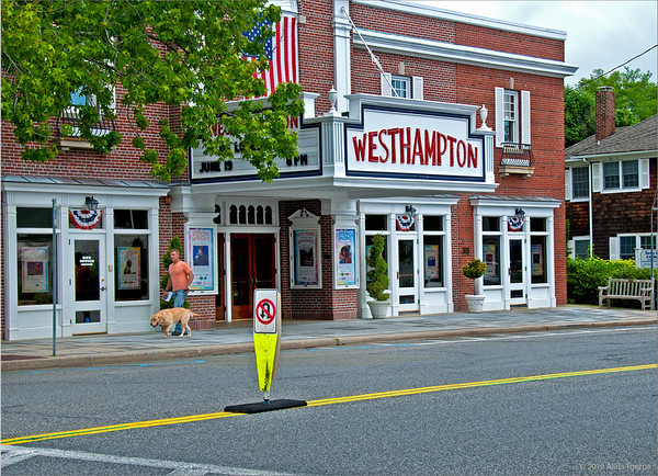 Westhampton Village, movie theatre