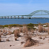 Robert Moses Bridge Causeway, from Captree Island