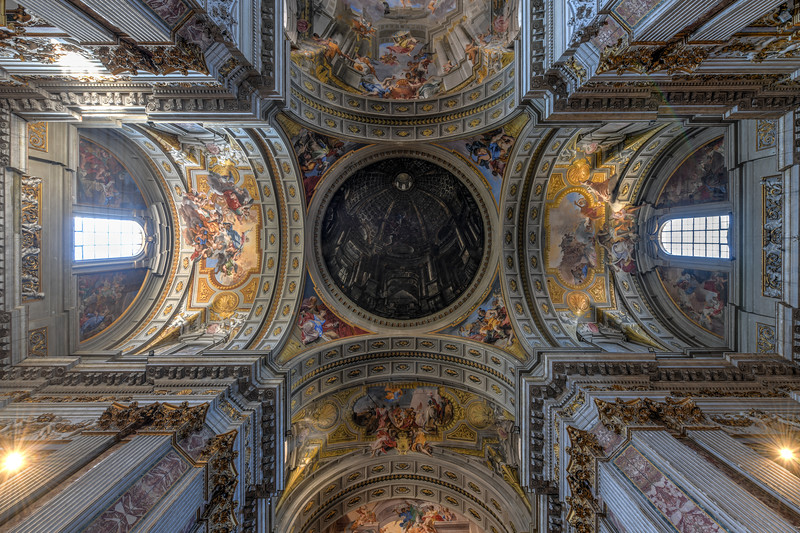 Church of Saint Ignatius of Loyola - Rome, Italy