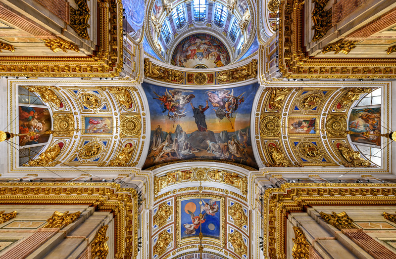 Saint Isaac Cathedral - Saint Petersburg, Russia