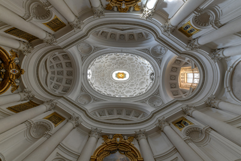 Church of San Carlo alle Quattro Fontane - Rome, Italy